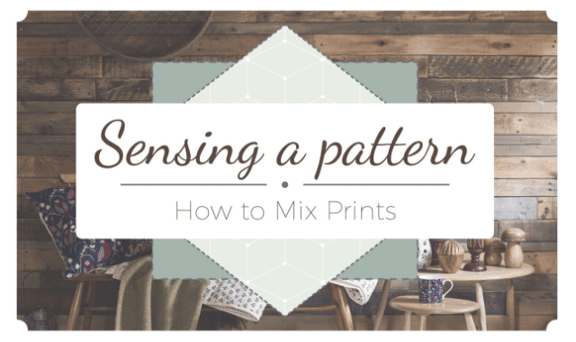 How To Mix And Match Prints In Your Home