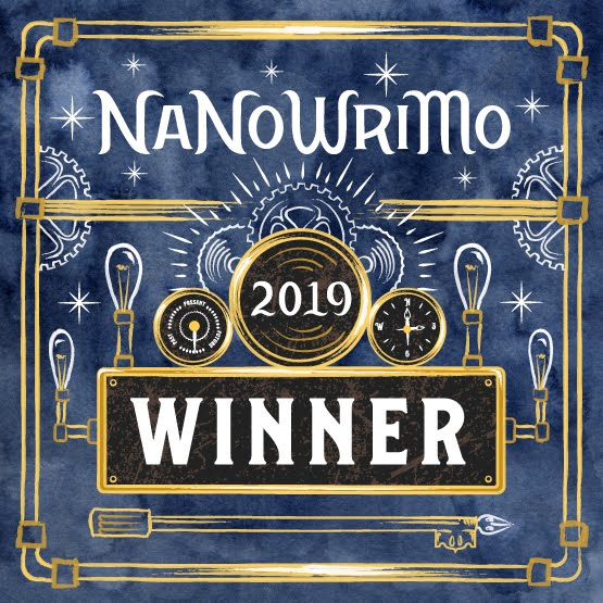 NaNoWriMo WINNER