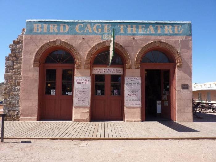 2 Acre Meadow Bird Cage Theatre Tombstone
