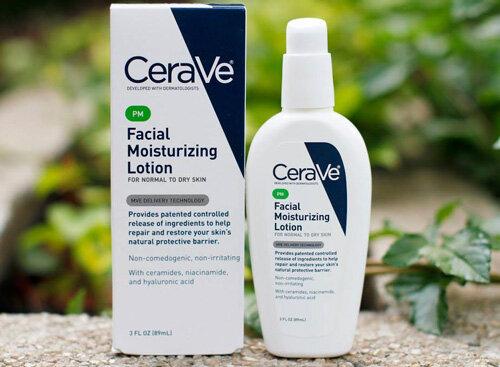 CeraVe PM - kem dưỡng ẩm hàng đầu để trị mụn