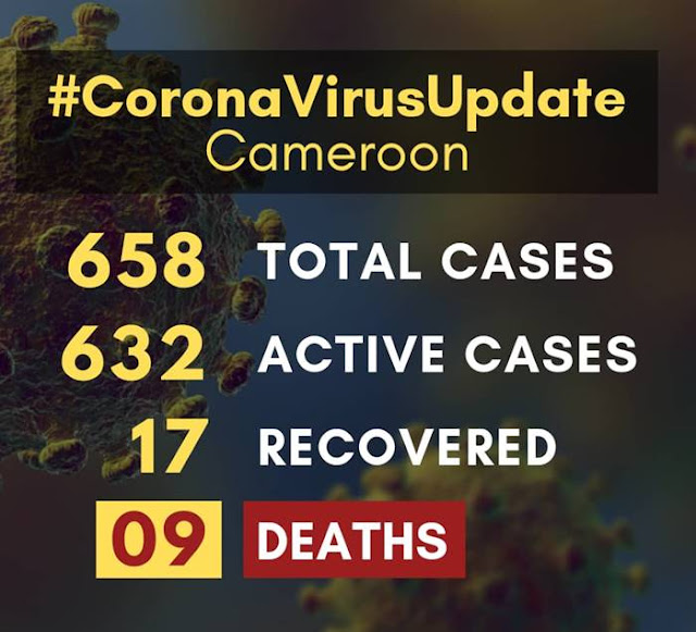 Covid-19 Cameroon: 658 Total Cases with 9 Deaths