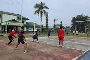 Zidam XII/TPR Olahraga bersama dengan Masyarakat Perumahan Siaga Kubu Raya