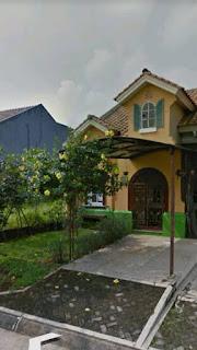 Rp 1 Milyar Dijual Murah Rumah Langsung Menghadap jalan uatama di kawasan elit Sentul City ( CODE 501 )