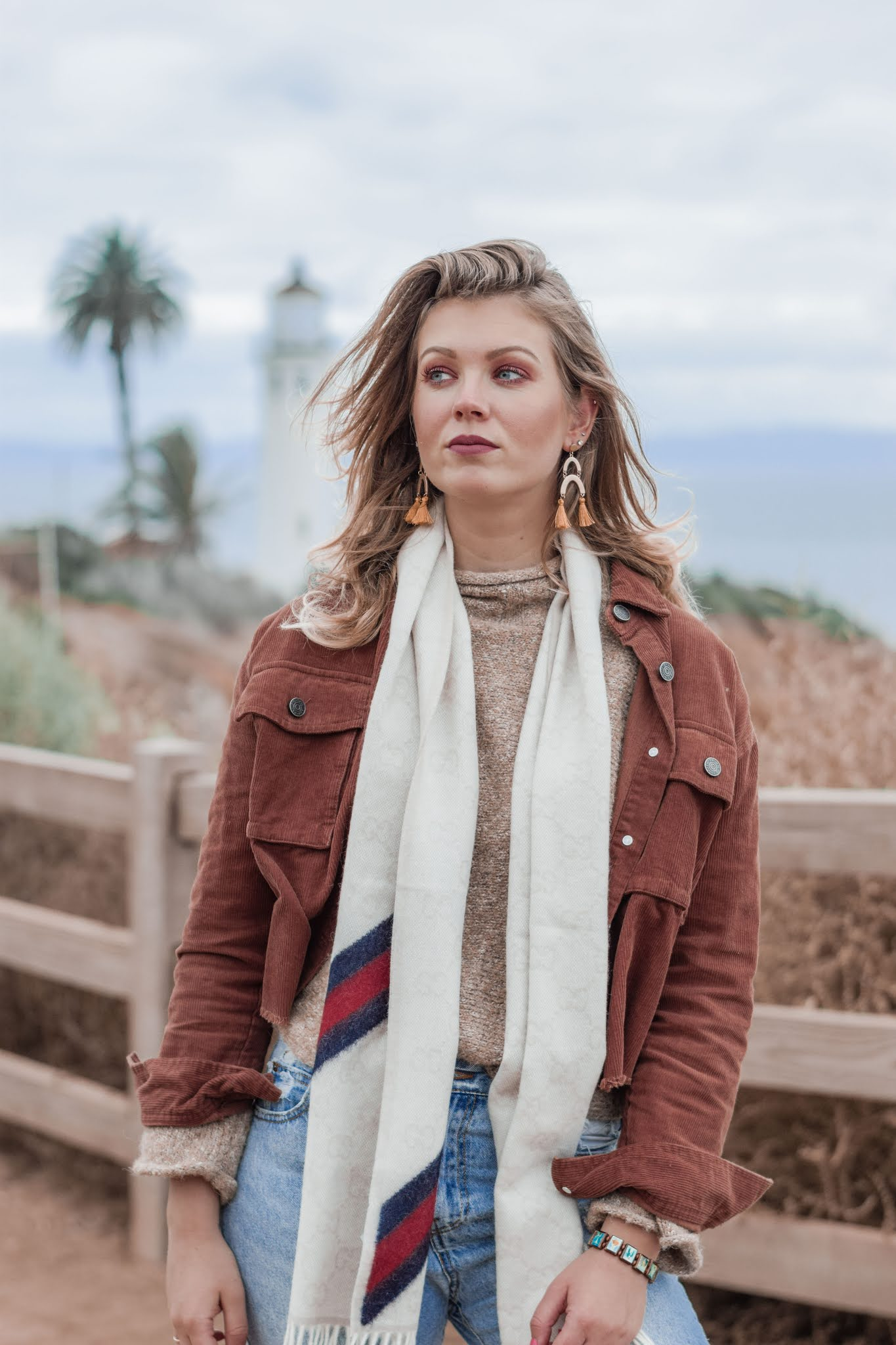 how to style a corduroy jacket