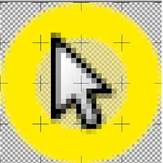 Highlighted cursor
