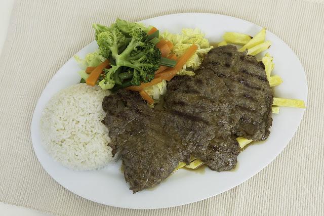 Bisteck a la Parrilla