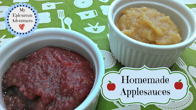 My Epicurean Adventures: Homemade Applesauce