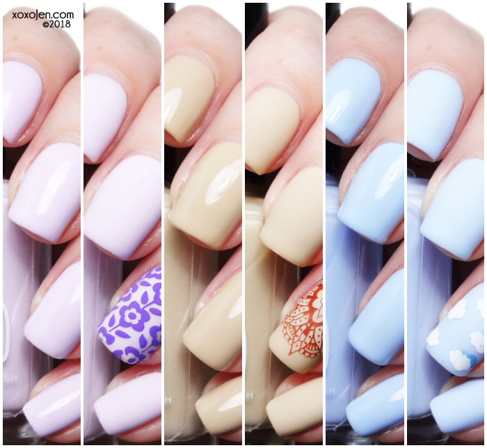 xoxoJen's swatch of 1850 Artisan Chic Beach Weekend