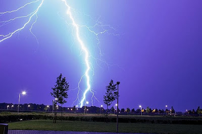 Lightning-as-an-example-of-plasma-present-at-Earth's-surface