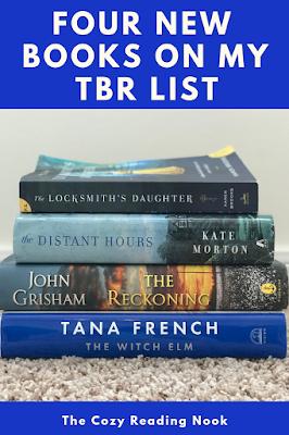 Four New Books on my TBR List