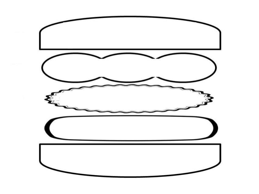 Kindergarten and Mooneyisms: Write a Hamburger Sentence!