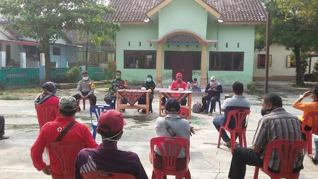 Babinsa Ramil 23/Ceper Menghadiri Rapat Koordinasi Tentang Penanganan Virus Corona Covid 19