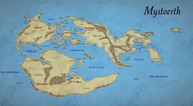 Mystoerth map