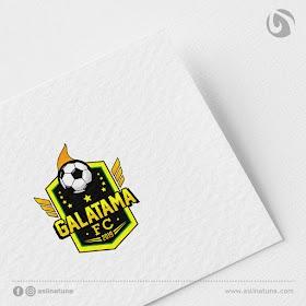 Desain Logo Galatama FC