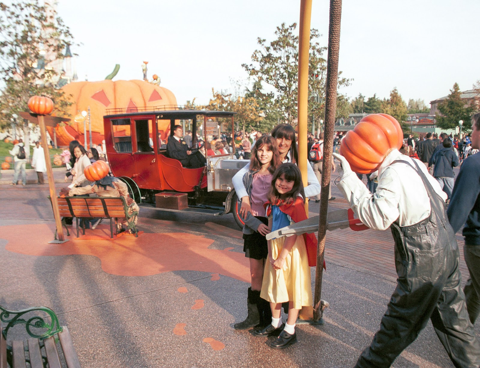 Halloween at Disneyland Paris in 2004
