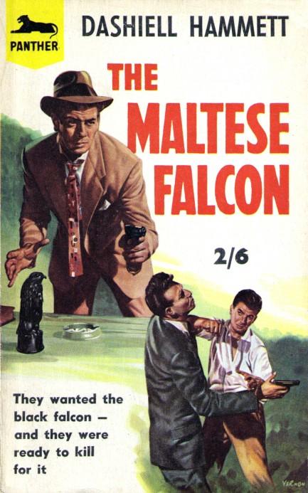 a summary of the novel the maltese falcon by dashiell hammett