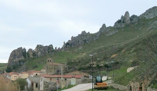 Pancorbo, at the end of Burgos, a Castilla village very well preserved