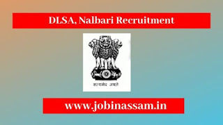 DLSA, Nalbari Recruitment