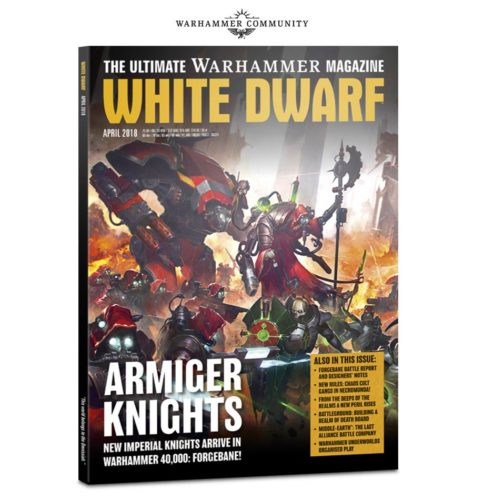 White Dwarf de abril