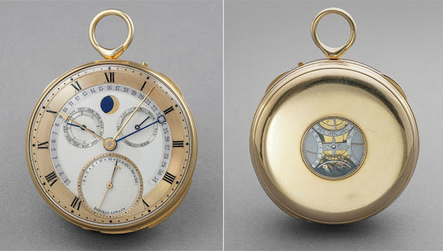 George Daniels' most complicated watch, front and back