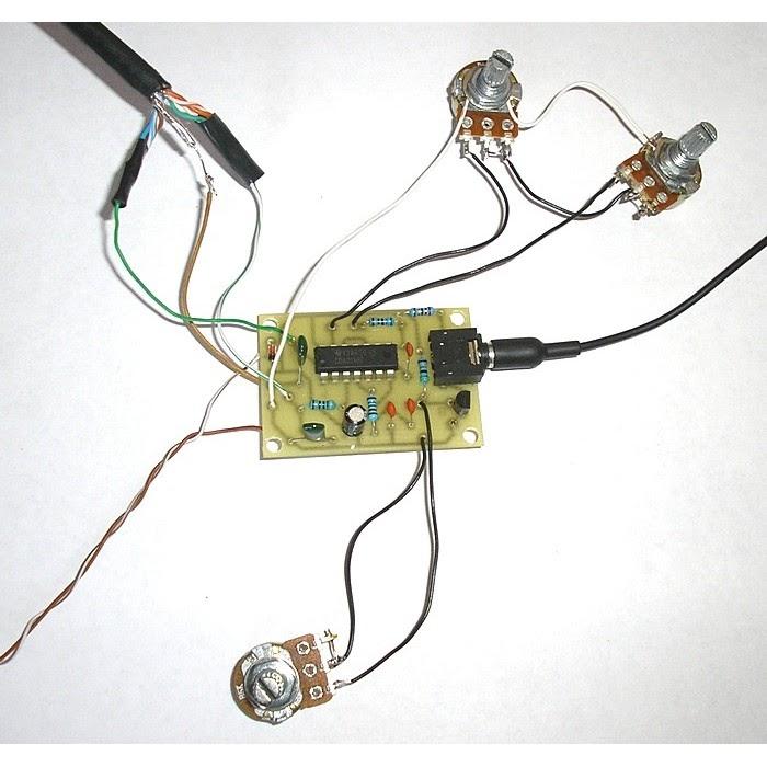 Simple metal detector