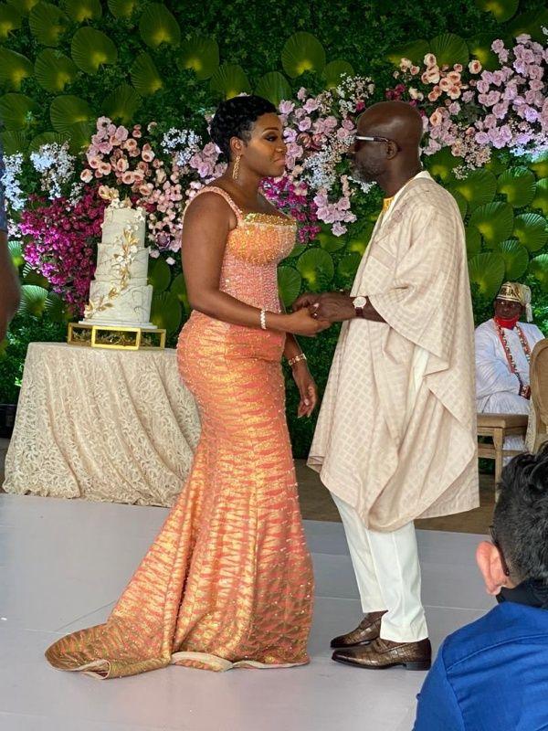 Video: Nana Asante Bediatuo marries his longtime sweetheart Femi Adetola