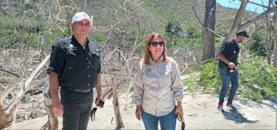 Ministerio de Medio Ambiente recuperara infraestructuras del Parque Nacional Lago Enriquillo.
