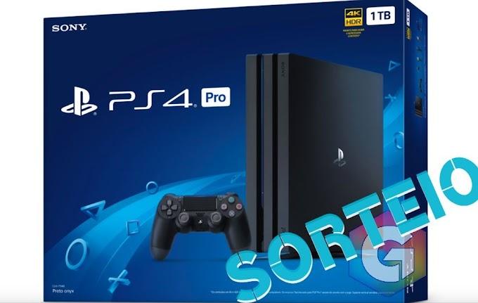 Sorteio de Um Playstation 4 PRO 1 TB!!
