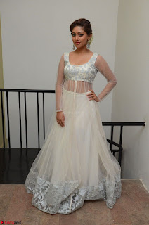 Anu Emmanuel in a Transparent White Choli Cream Ghagra Stunning Pics 015.JPG