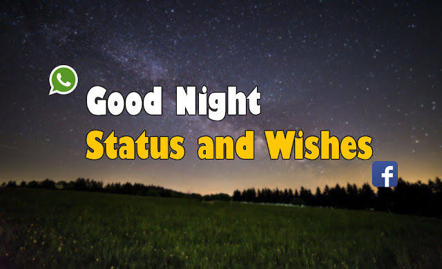 Good Night Wishes,Status For Whatsapp and Facebook
