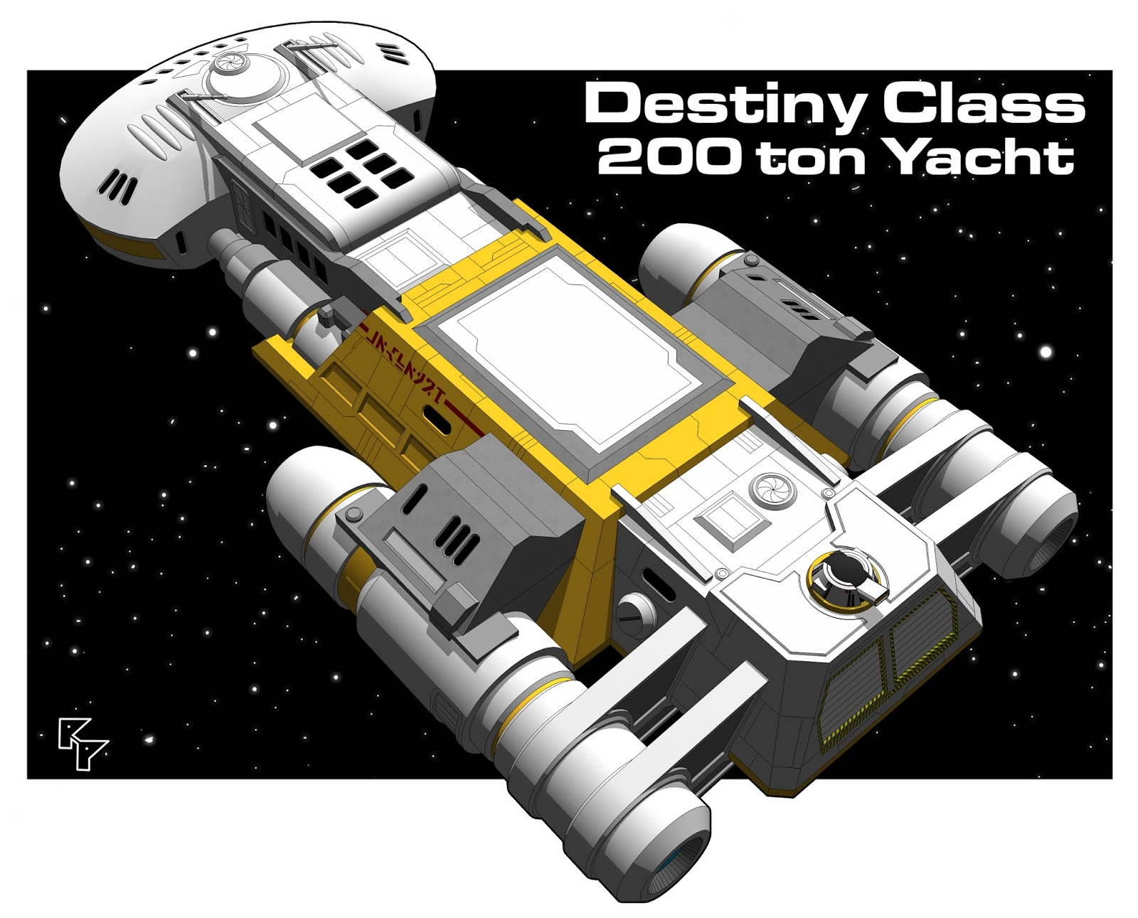 Yet another traveller blog deck plans starship 200 ton ish yacht so in all the years ive been playing traveller and more likely playing with traveller ive never adventured in a yacht im pretty much a scout and baanklon Choice Image