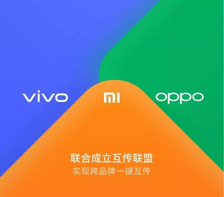 Xiaomi, OPPO, and Vivo to Launch an AirDrop-like File Transfer Service