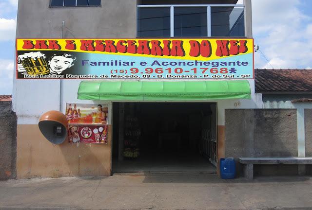 BAR E  MERCEARIA DO NEI Rua. Lázaro Nogueira de Macedo, 09 Bairro Bonanza - Pilar do Sul - SP tel: (15) 99610-1768