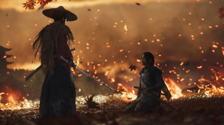 Ghost of Tsushima other great scene in the forest