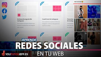 Poner Widget de Redes Sociales en mi Pagina Web