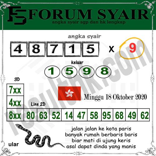Forum syair hk Minggu 18 Oktober 2020