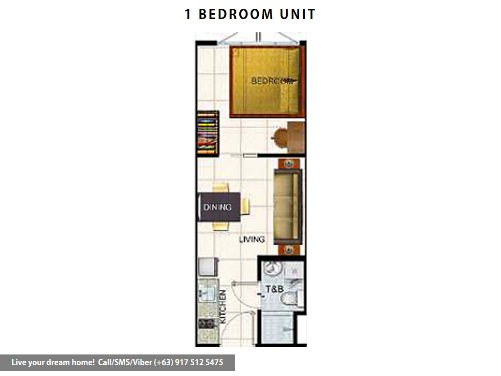 SMDC Air Residences - 1 Bedroom | Condominium for Sale Makati City