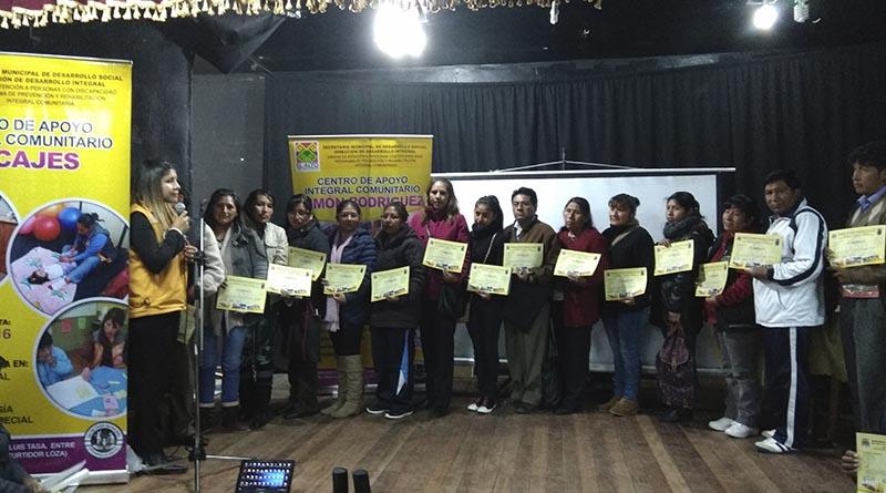 Participantes del Programa de Prevención y Rehabilitación Integral Comunitaria