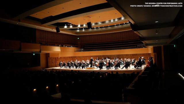 Orchestra on Noorda stage