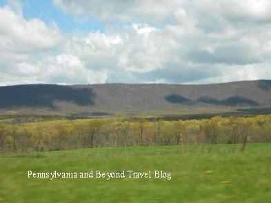 Rolling Mountains in Western Pennsylvania
