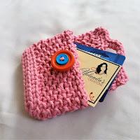 crochet card holder