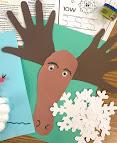 Moose storytime, moose craft