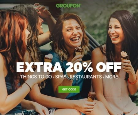 Groupon 20% off Local Deals Promo Code
