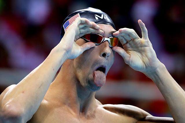Ekspresi Lucu Atlet Olimpiade Rio yang Berhasil di Tangkap Fotografer
