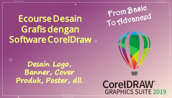 Ecourse Mahir Desain Grafis Dengan Corel Draw