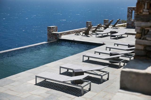 piscina infinita hotel boutique en grecia chicanddeco