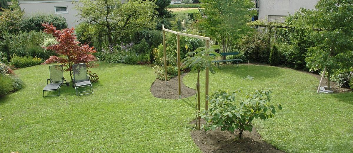 Garten-Liebe*: Vorher-Nachher Gartenbilder