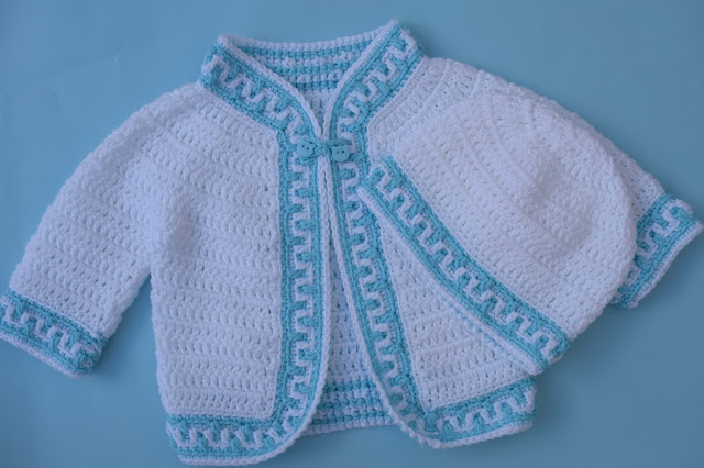 3- Crochet Imagen Gorrito conjunto con chaqueta a crochet y ganchillo por Majovel Crochet
