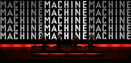 Man Machine. Image courtesy of Sprueth Magers, Berlin and London. © Kraftwerk
