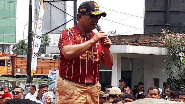 Canda Prabowo ke Kader yang Minum Saat Pidato: Nah itu tuh, 'partai kebangsaan' tuh!